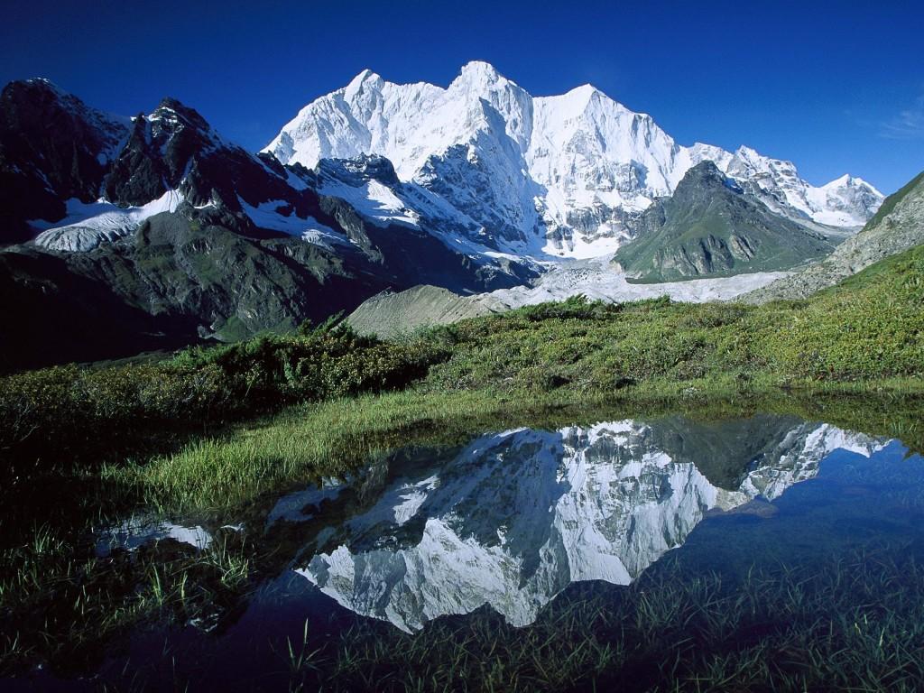 World_Asia_Chomolonzo_Peak___Kangshung_Glacier___Tibet